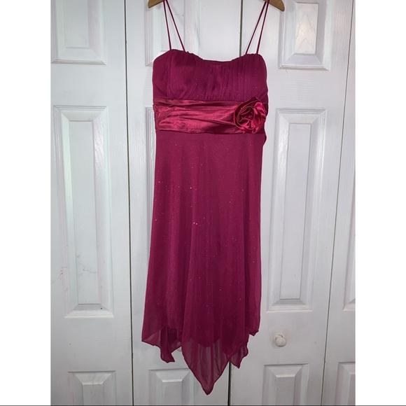 Speechless Dresses & Skirts - All sparkled magenta semi formal dress.